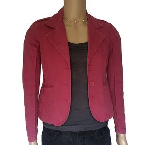 Juicy Couture Womens Pink Jean Jacket Size Medium